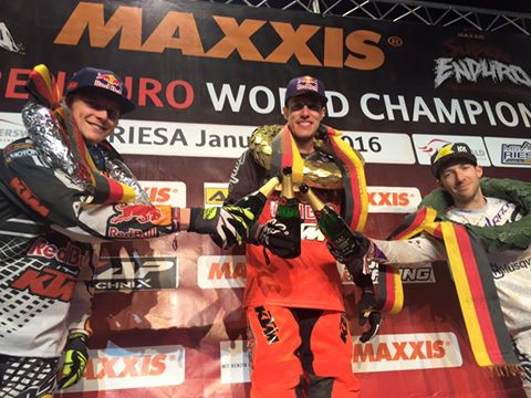 Webb Continues Perfect SuperEnduro Start