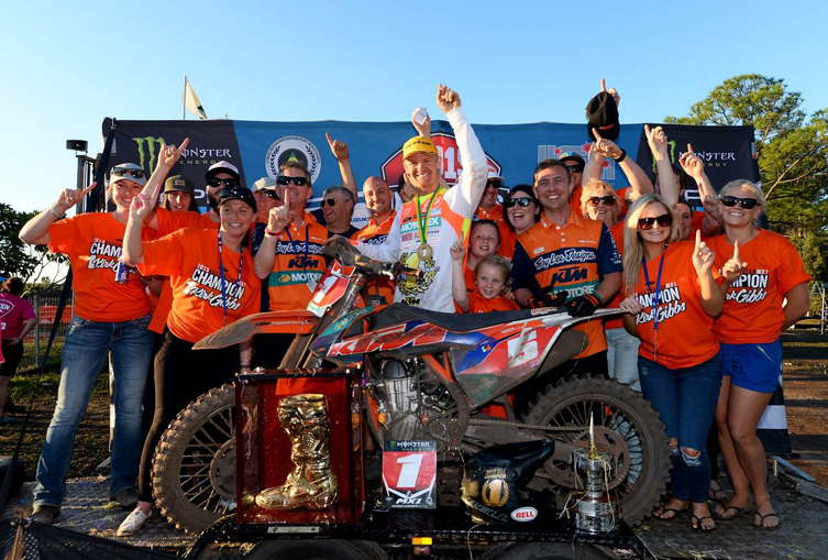 Kirk Gibbs was crowned MX Nationals Champion in 2015