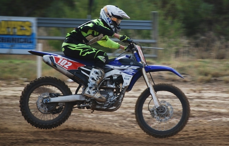 Mat Fabry is the current Australian 13-14 years 125cc for WA YJR