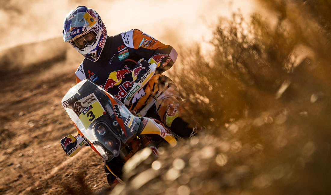 Price Holds onto Second Place at Dakar Halfway Point