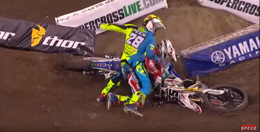 Video: Weston Peick Erupts at A1