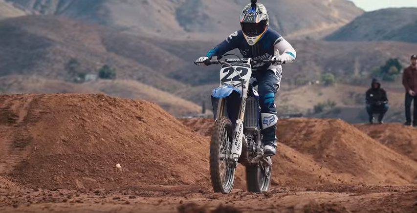 Video: Chad Reed Yamaha Introduction