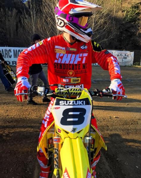 Ben Townley Commences Suzuki testing