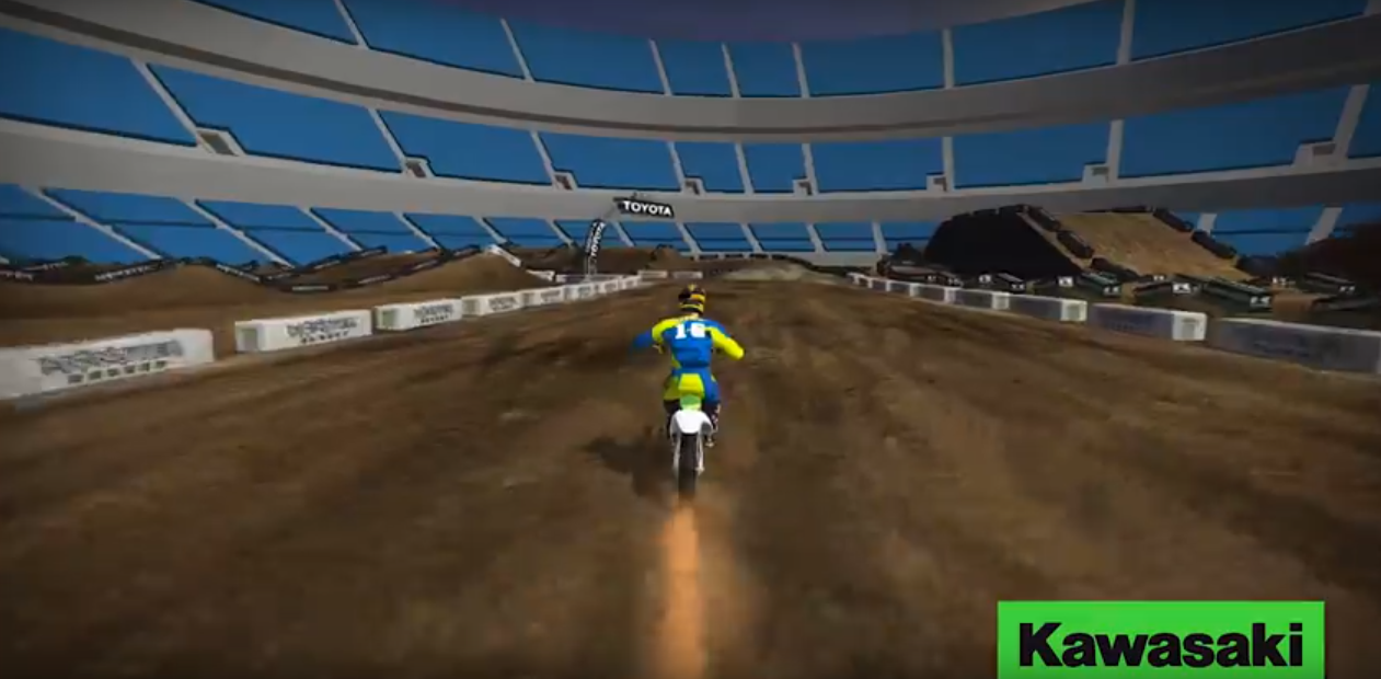 Video: Animated Oakland Track Map