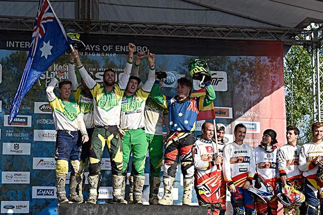 Australia - 2015 ISDE Champions