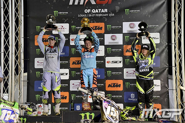 Courtney Duncan clean sweeps Qatar
