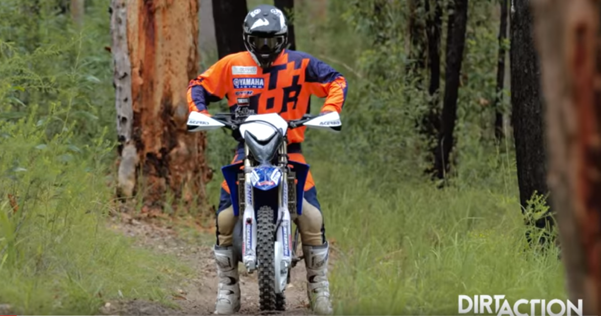 Dirt Action Project YZ125 Enduro Project Bike Hot Lap