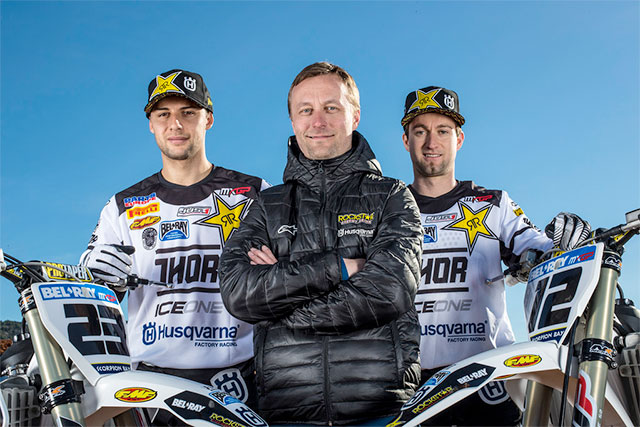 Husqvarnas MXGP Racing Team