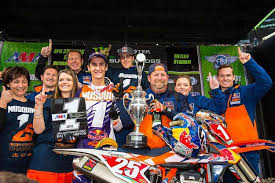 Marvin Musquin was the 2015 250SX East Champion