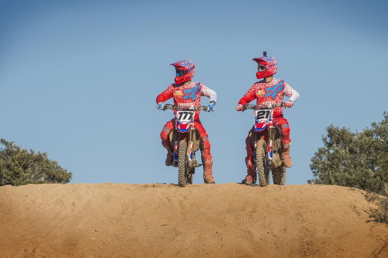Paulin and Bobryshev prepare for MXGP 2016