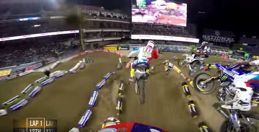Video: On board with Davi Millsaps