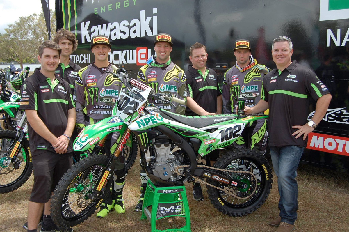 2016 NPE Monster Energy Kawasaki team