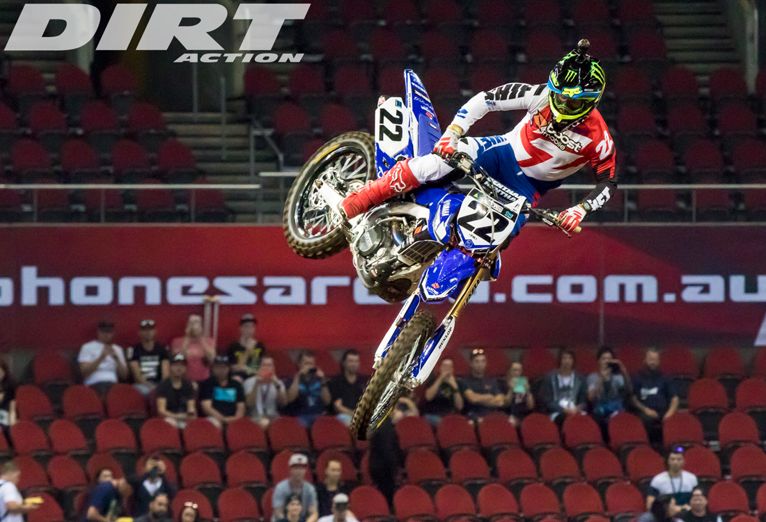 Chad Reed at the Aus-X Open - pic - Ashenhurst