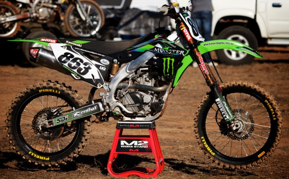 2012 KX 450F Project Bike