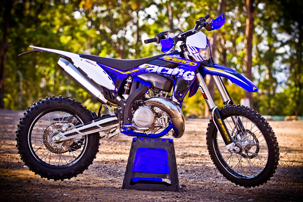 2014 sherco 250 se r   dirt action