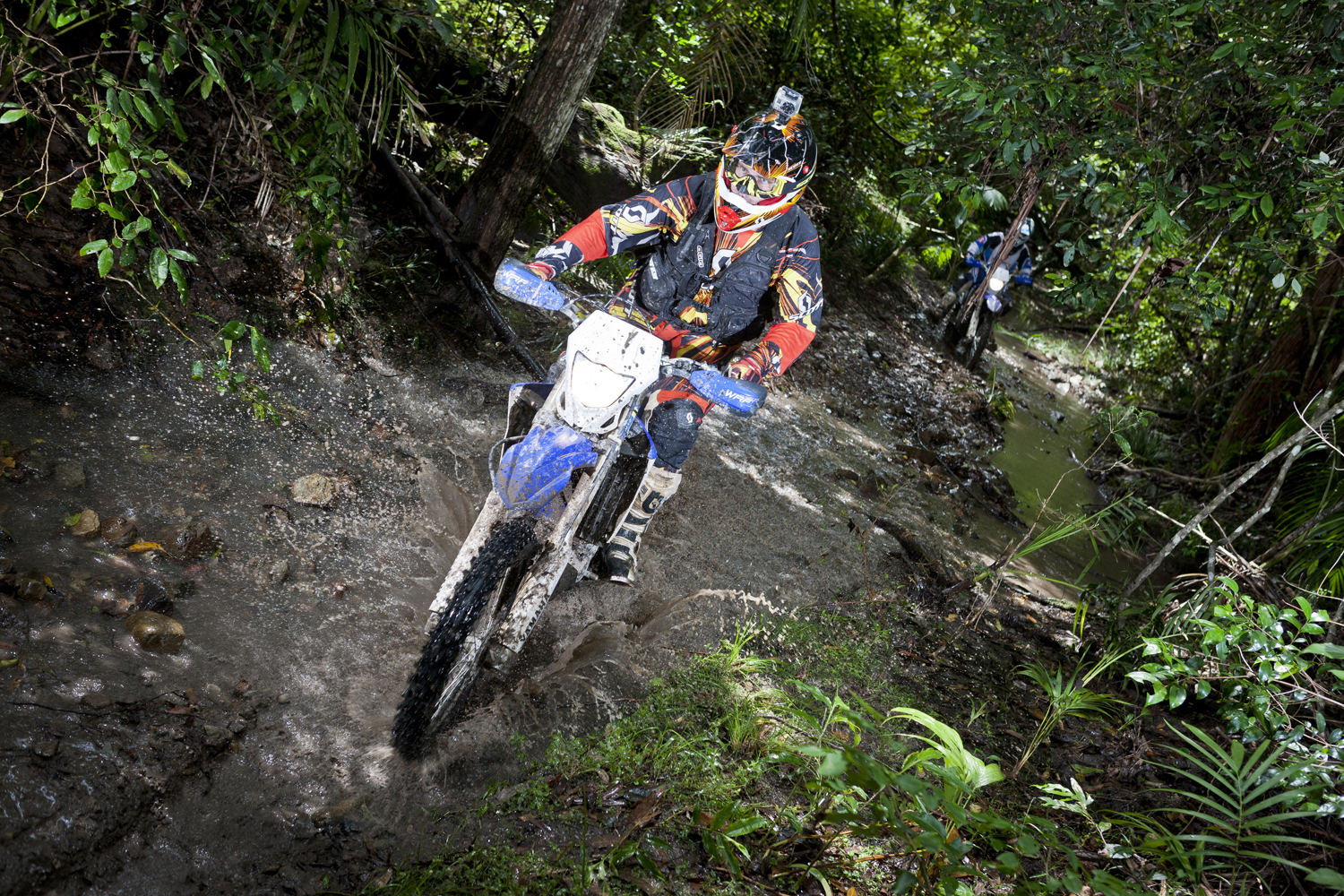 Press launch for the 2012 WR450F - Coffs Harbour Detour ride