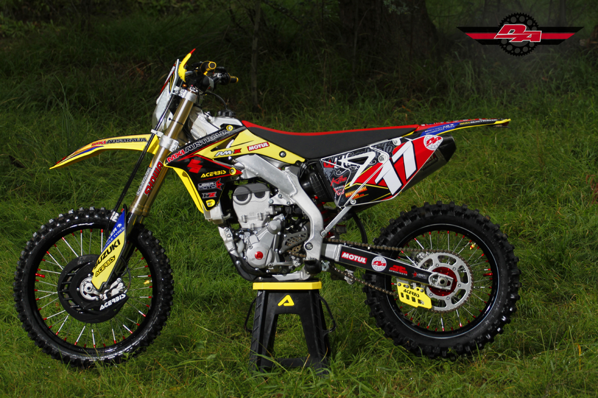 MX1 Australia Suzuki RMX 450Z Project Bike