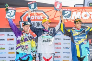 MX2 podium-Aaryn Minerds