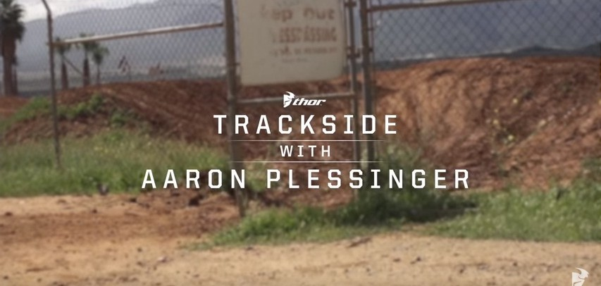 Video: Trackside with Aaron Plessinger