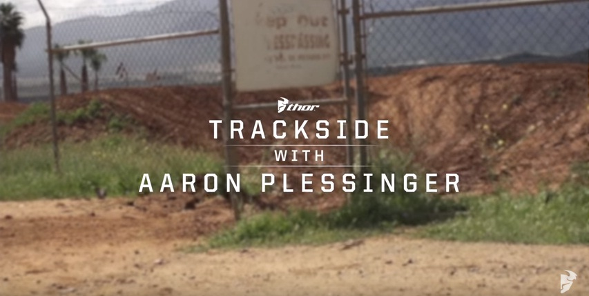Trackside with Aaron Plessinger