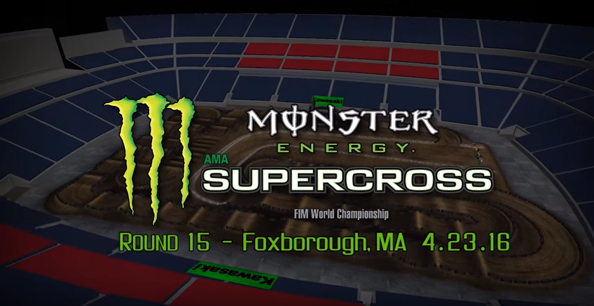 Foxborough track map