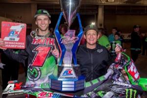 Faith Wins 2016 AMSOIL Arenacross Title