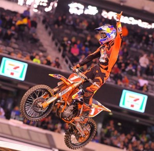 Dungey wins the 450SX title | Photo Credit: Cudby
