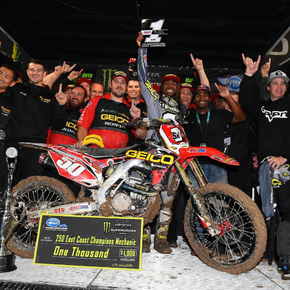 Malcolm Stewart celebrates his first title - Photo Credit: Cudby