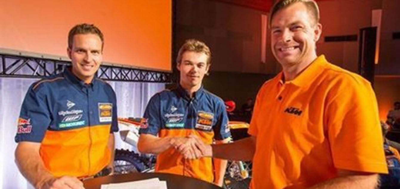 Kailub Russell Extends Contract with KTM