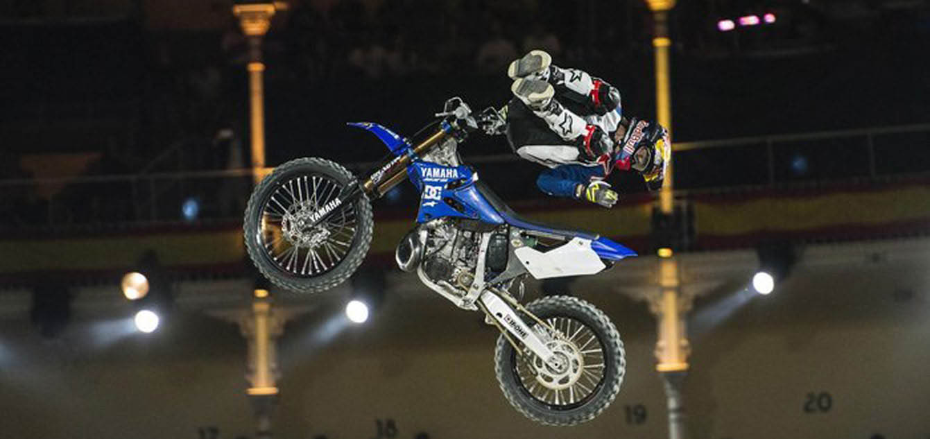 Pagès Celebrates Fourth Madrid Red Bull-X Fighters Victory