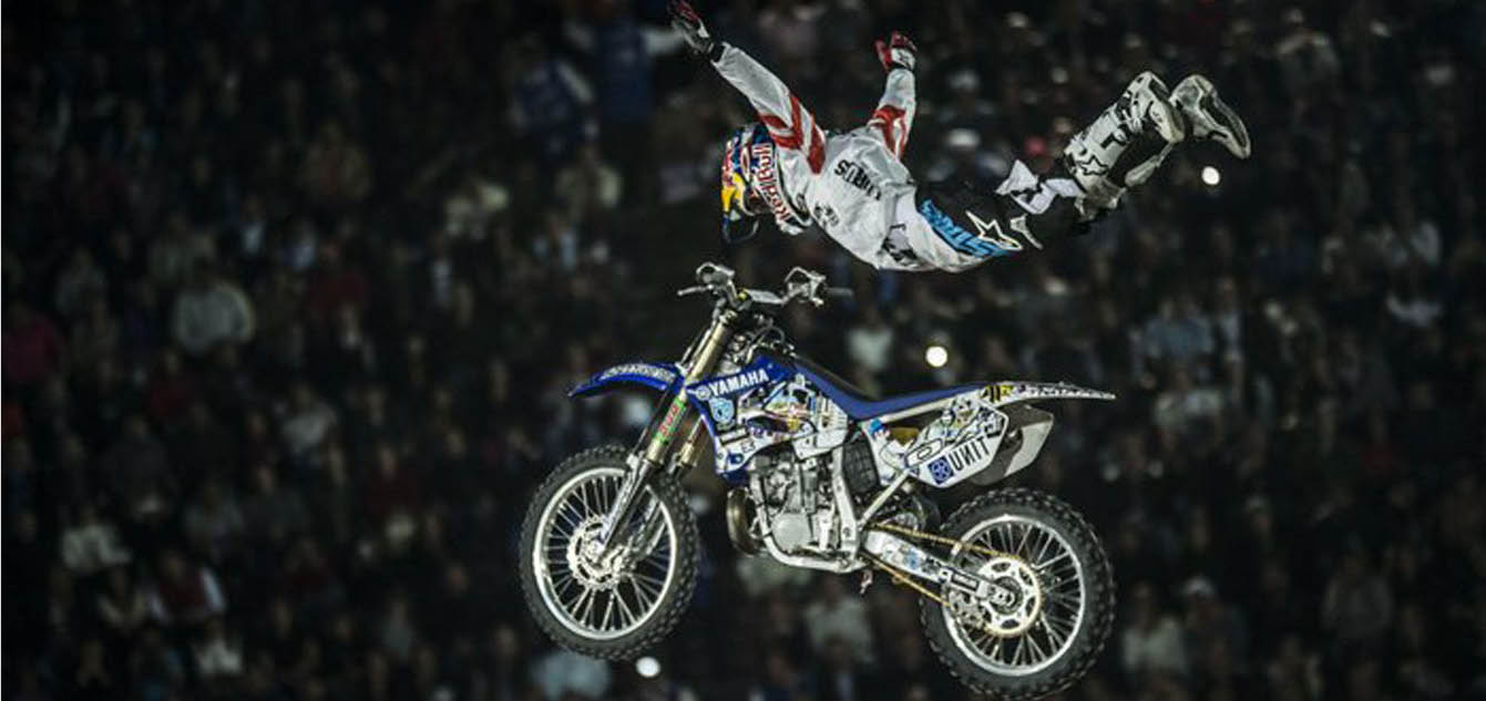 Pagès Eyes Fourth Straight Madrid Red Bull X-Fighters Title