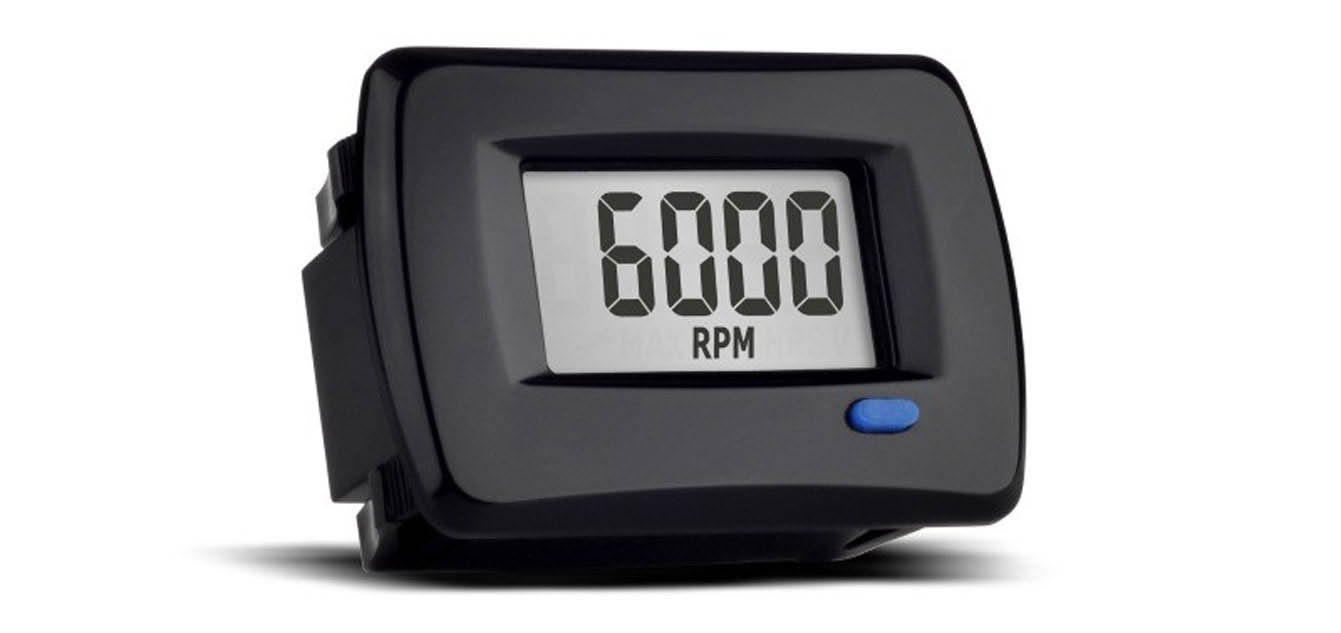 Trail Tech TTO Tach Hour Meter (742-A00)