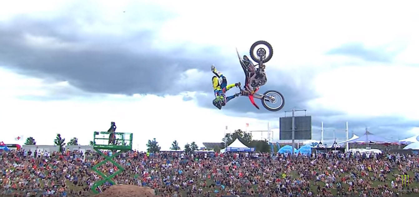 X-Games video feature