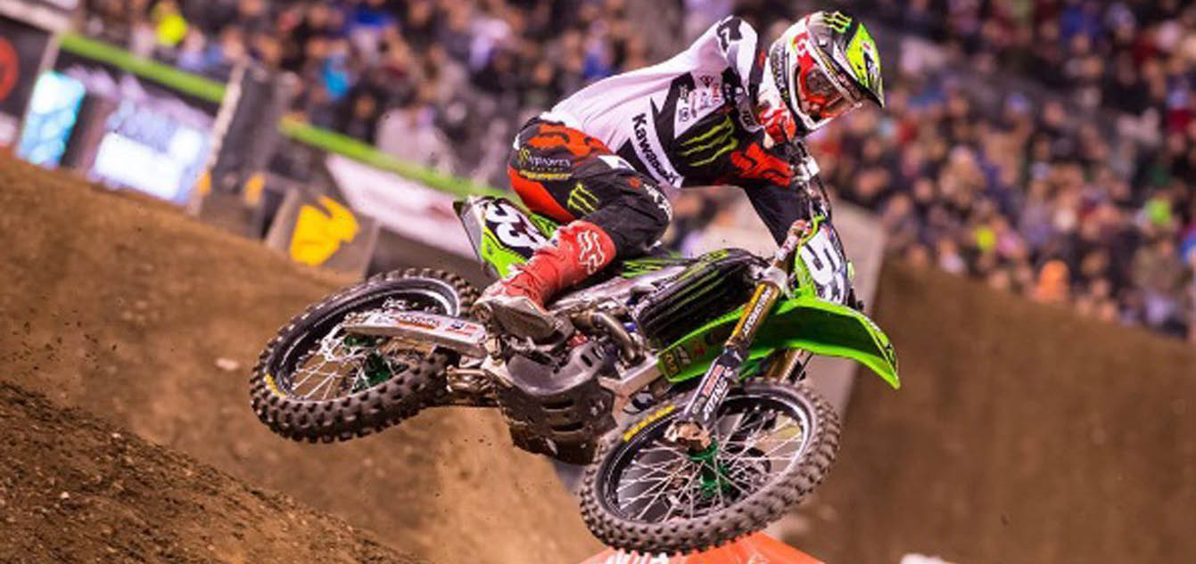 Bowers to Replace Grant in 450 Class for Kawasaki