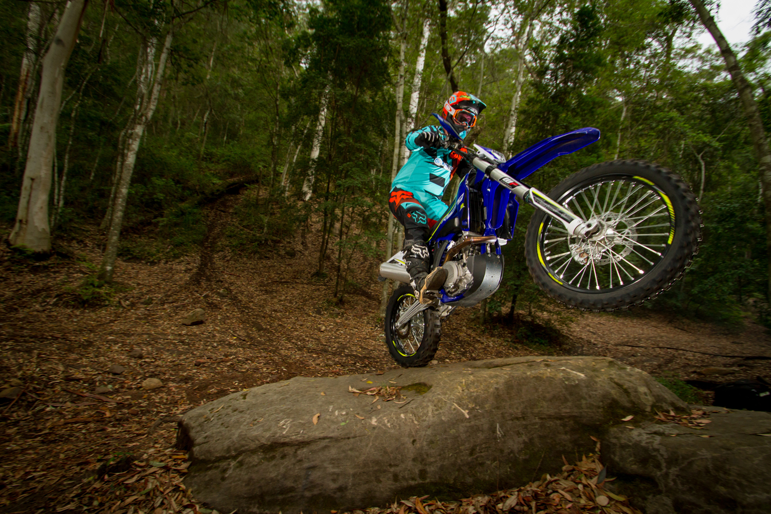 AIM AND FIRE – 2016 SHERCO 450 SEF-R