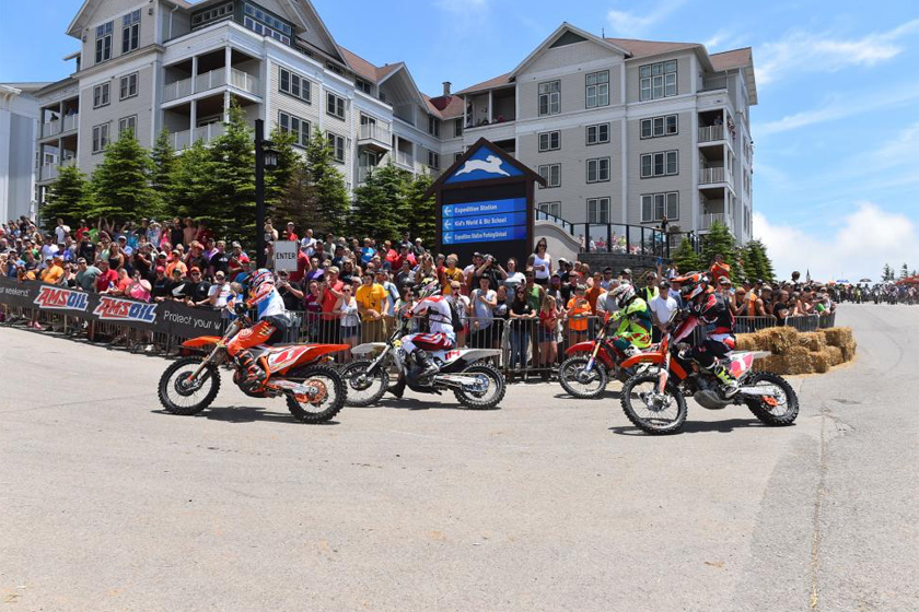 Russell Wins AMSOIL Snowshoe GNCC