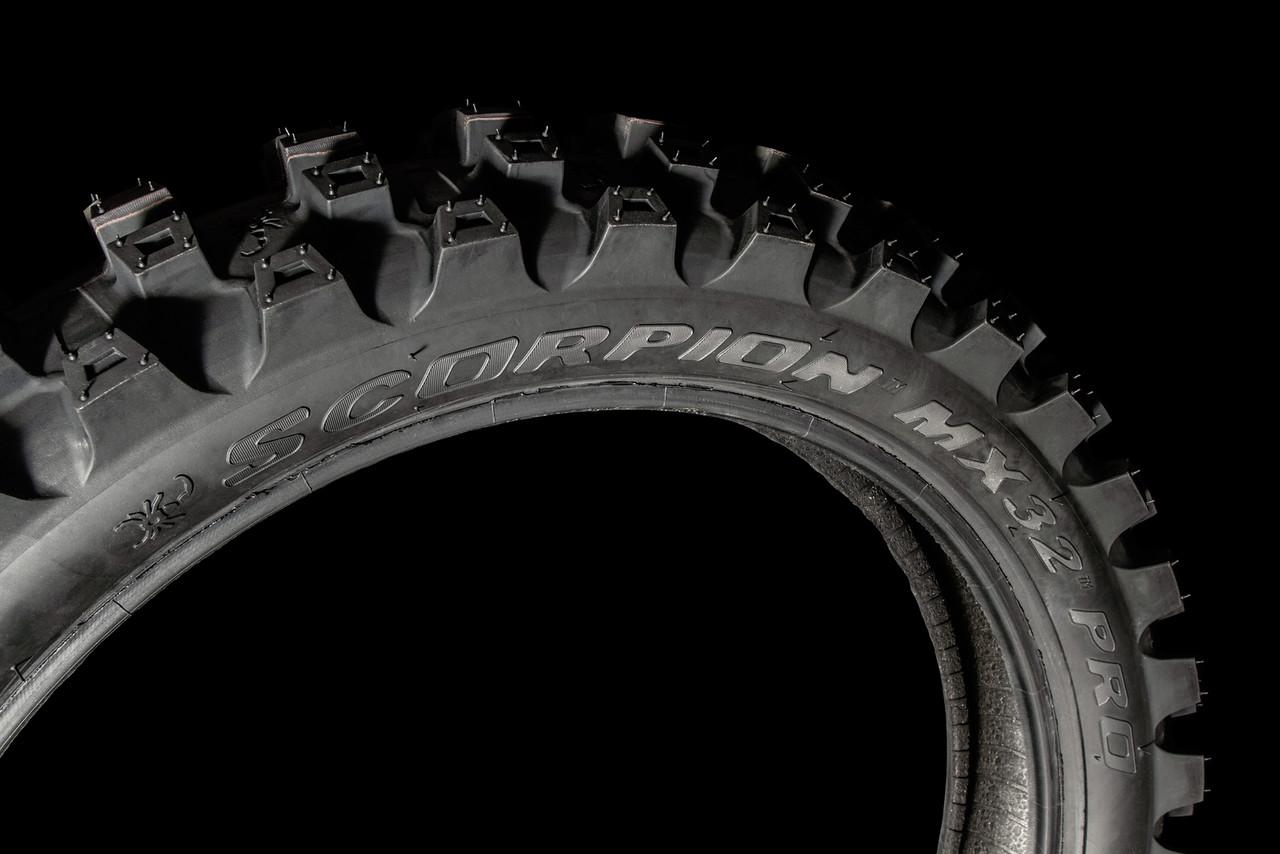 Pirelli Introduces All-New Scorpion™ MX32™ PRO Motocross Tyre