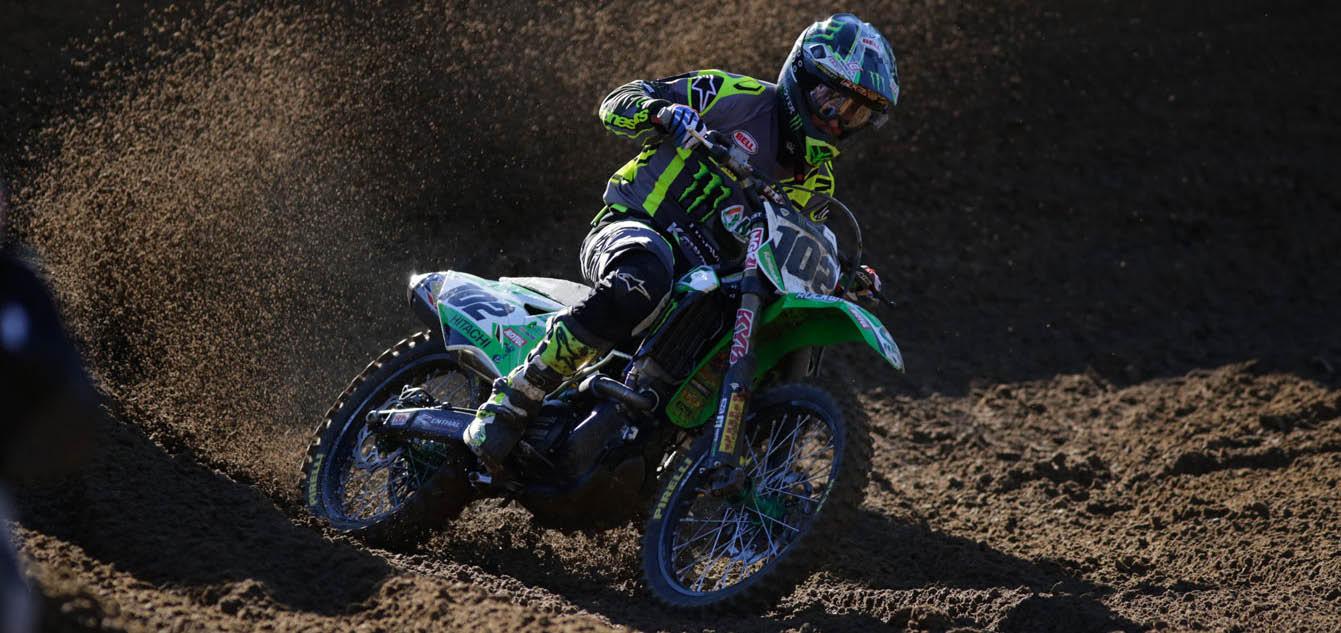 Matt Moss Takes Debut Scorpion MX32 Pro Race Win at Nowra