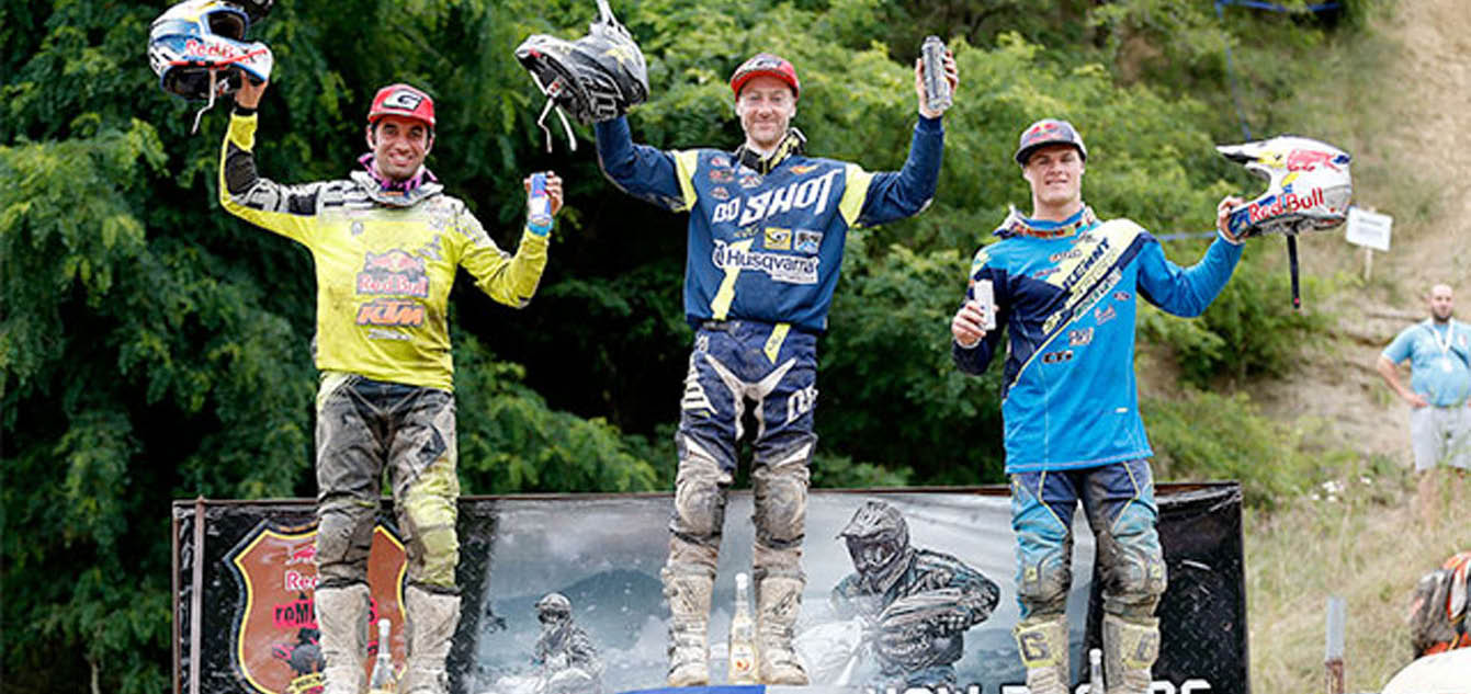 Jarvis Secures Fifth Red Bull Romaniacs Title