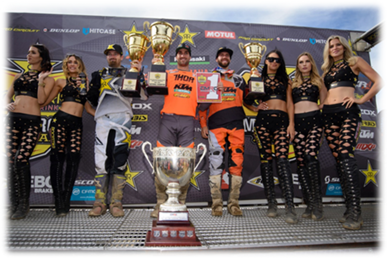 Davi Millsaps Crowned 2016 MX1 Canadian Motocross Champion