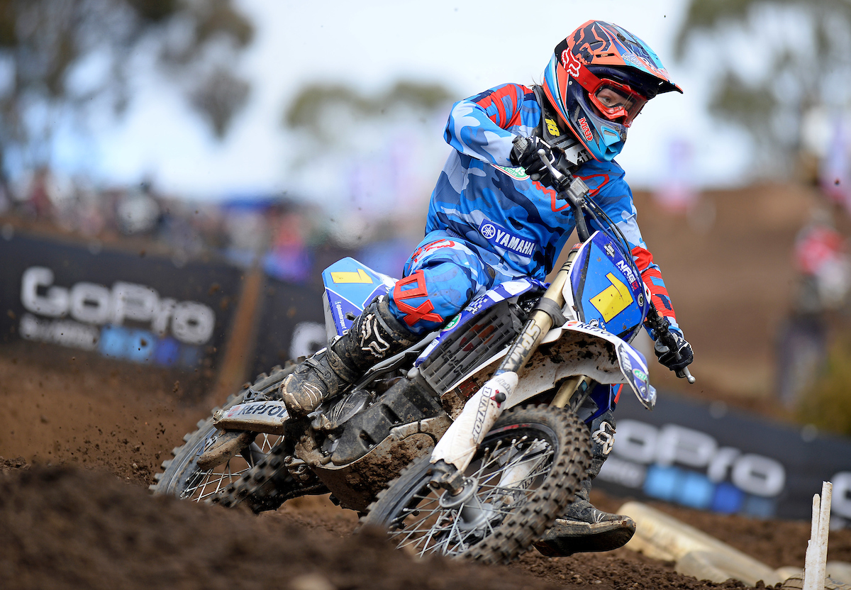 Maddy Brown / Yamaha 2nd overall MX Nationals / Round 3  Yamaha Women's MX Championship RD1 Australian Motocross Championships Broadford Sunday 26 April 2015 © Sport the library / Jeff Crow