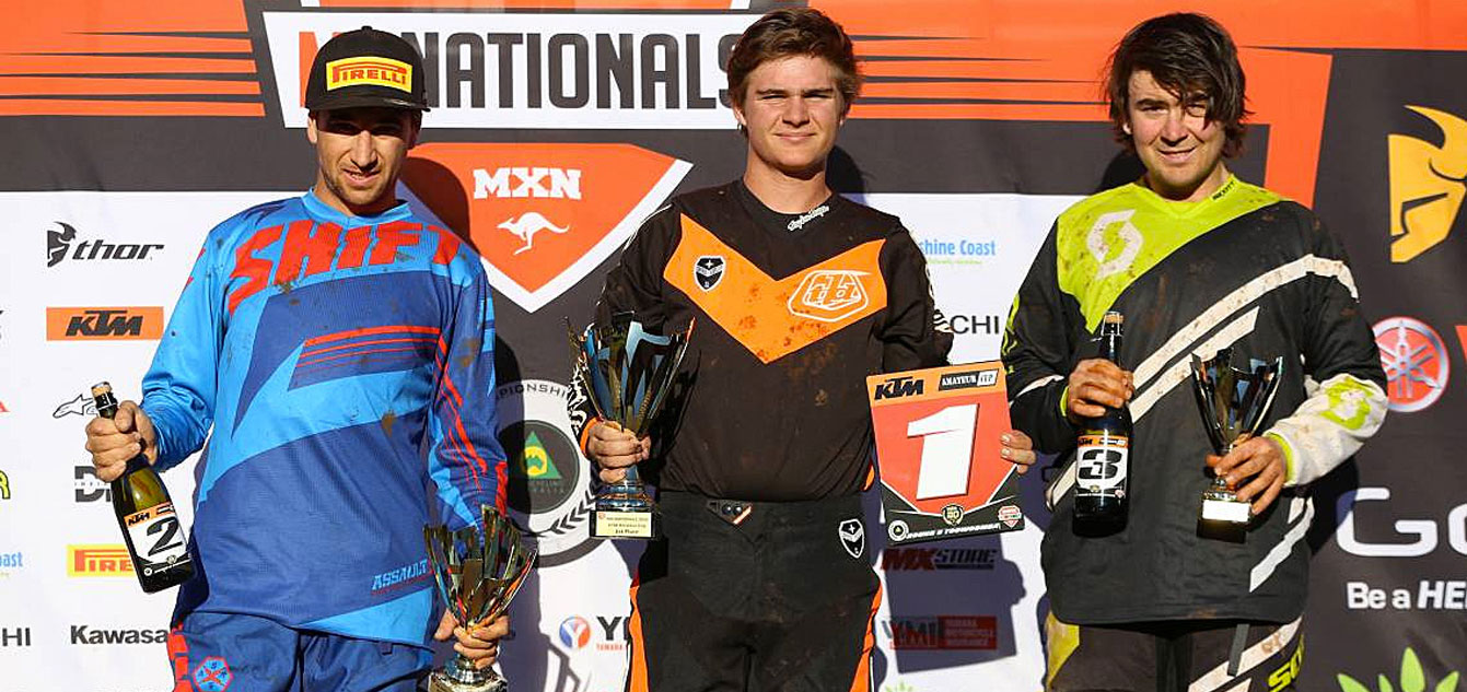 Polsoni Collects 2016 KTM Australian Amateur Cup Honours at Toowoomba