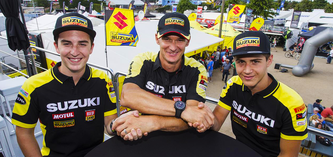 LAWRENCE BROTHERS JOIN SUZUKI MXGP