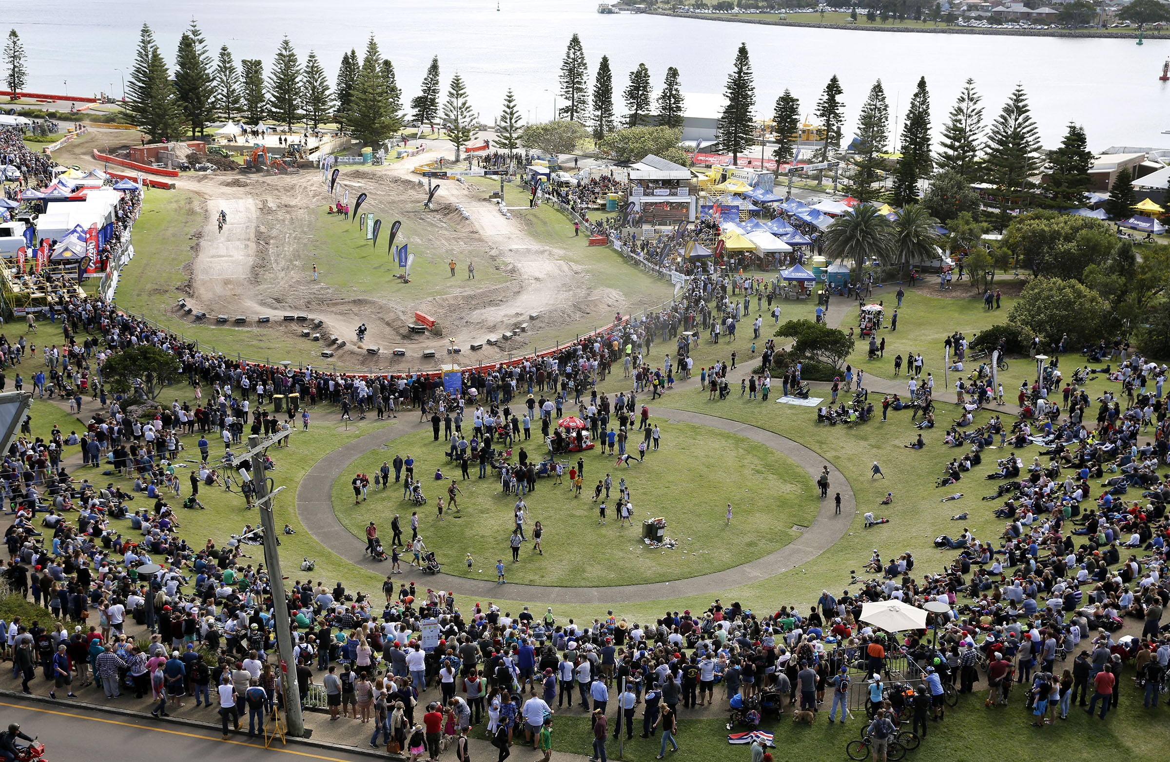 Plenty of moto fans turned up for the weekend of racing