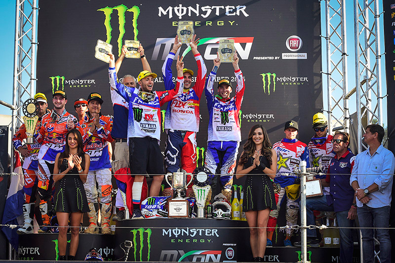 France Captures Third Straight MXoN Victory