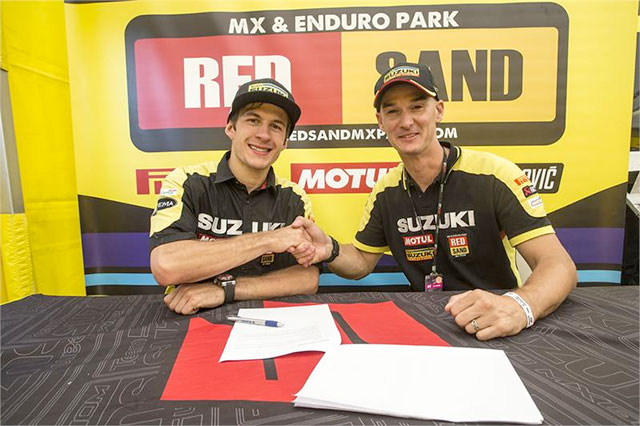 Seewer Extends With Suzuki Until 2019