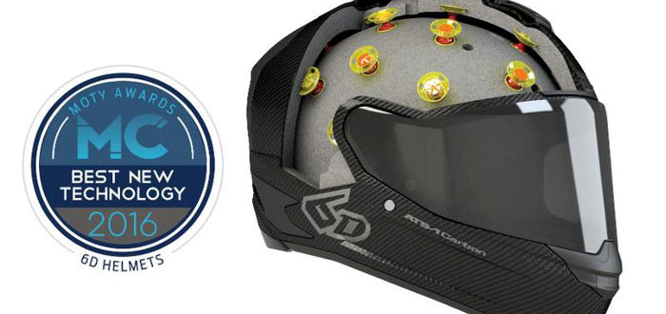 "6D Helmets Omni-Directional Suspension Bestowed ""Best New Technology"""