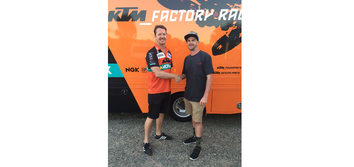 KTM Extends Partnership With Lusty Industries and Troy Lee Designs