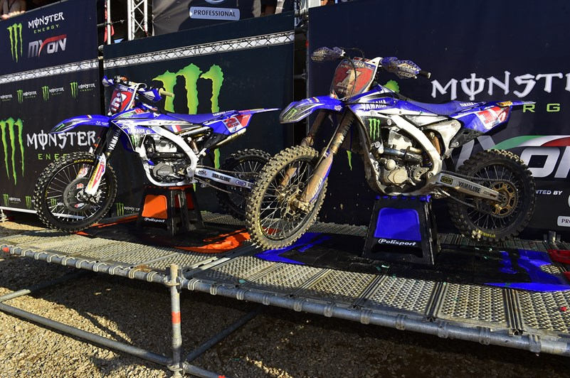 Yamaha Replace Barcia for SMX