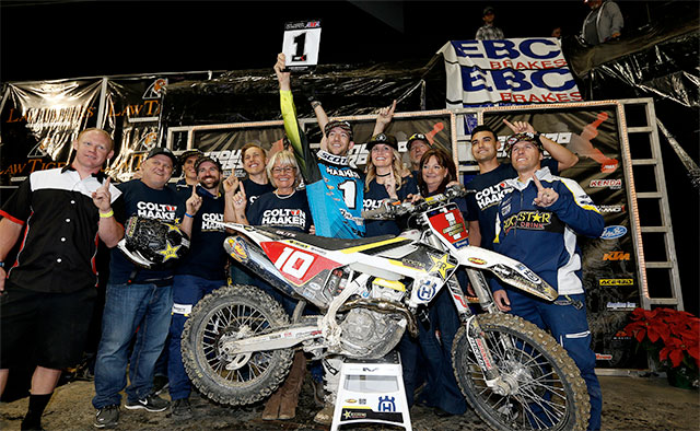 Haaker Secures 2016 Endurocross Championship